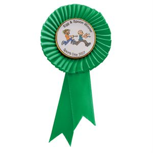 Tribute Green Mini Rosette - RO8171