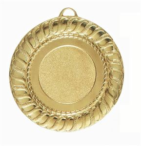 Gadroon Edge Bright Finish Medal