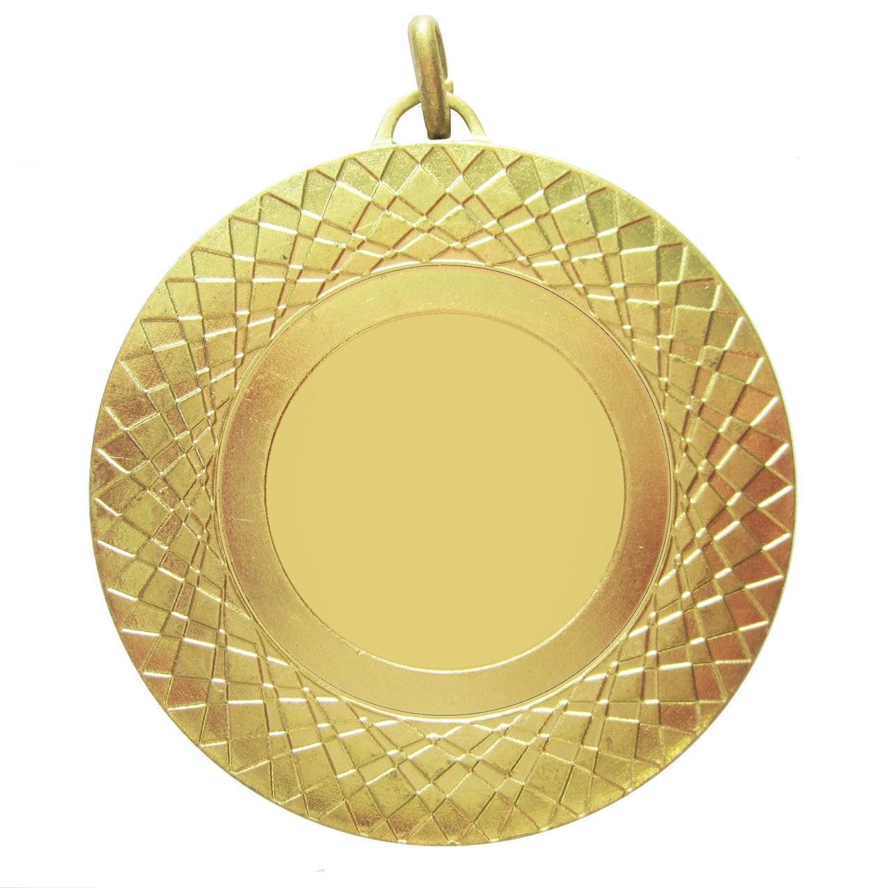Gold Assertion Bright Finish Medal (size: 50mm) - 5807