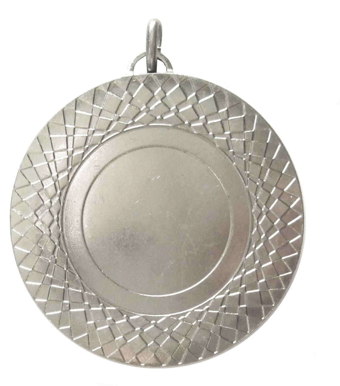 Silver Assertion Bright Finish Medal (size: 50mm) - 5807