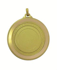 Gold Mirror Edge Medal (size: 52mm) - 5818M