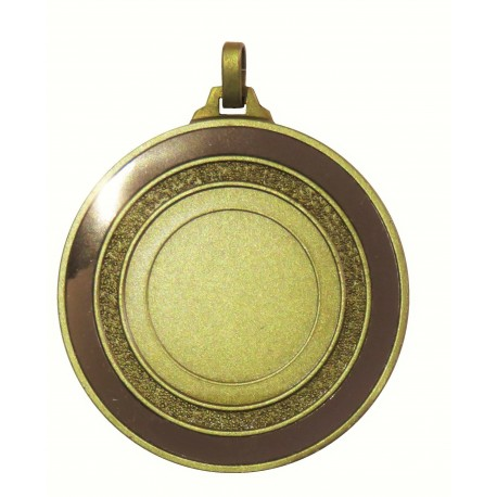 Bronze Mirror Edge Medal (size: 52mm) - 5818M