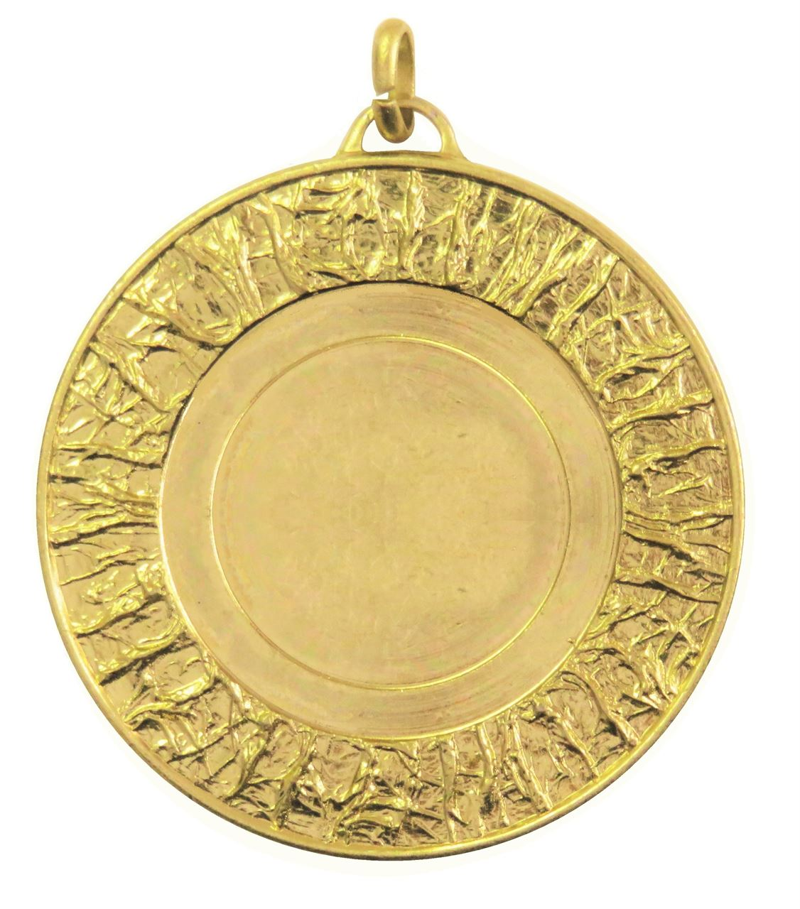 Gold Glacier Bright Finish Medal (size: 50mm) - 5808