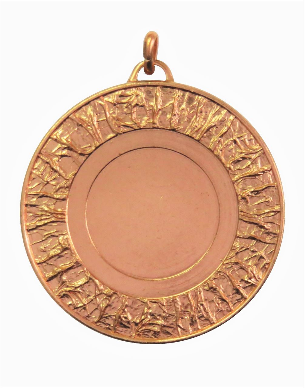 Copper Glacier Bright Finish Medal (size: 50mm) - 5808