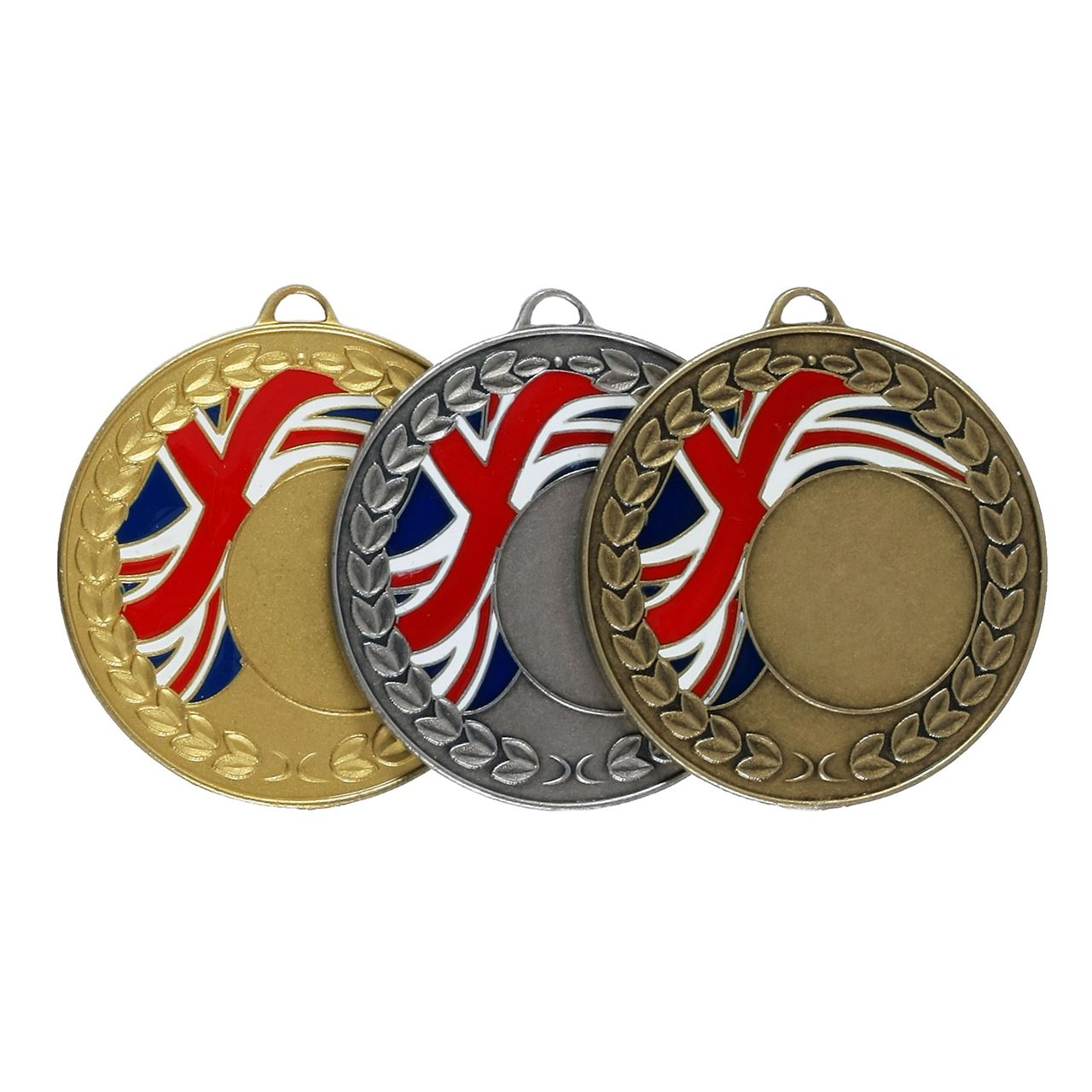 Union Flag Enamel Medal (size: 50mm) - U1659