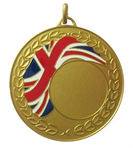 Union Flag Enamel Medal