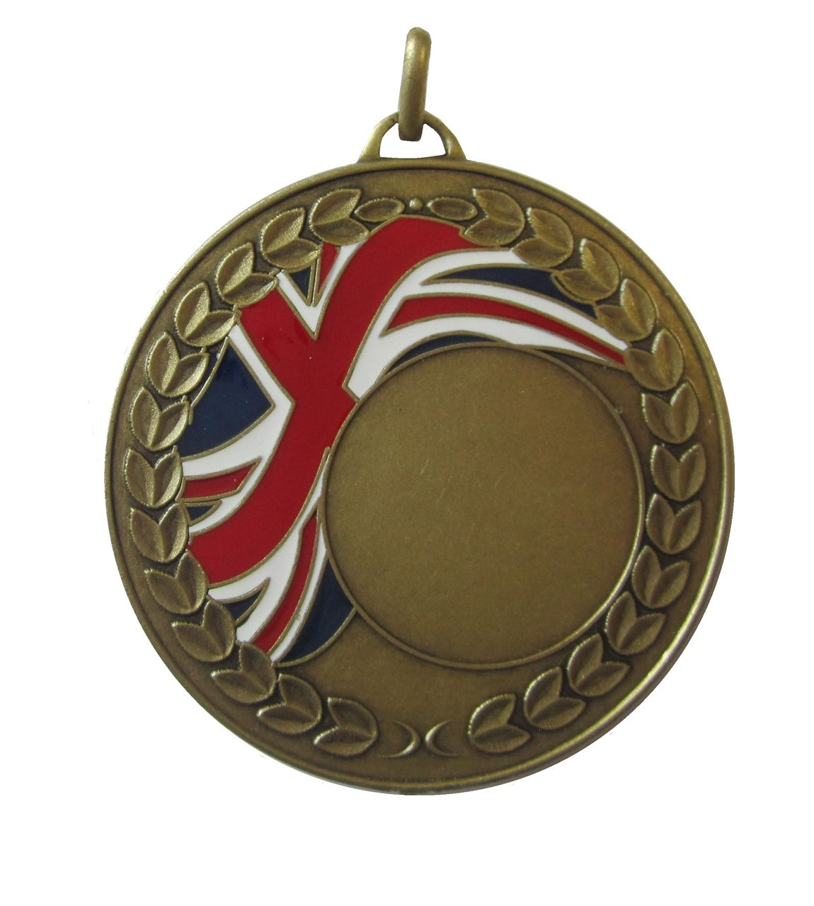 Bronze Union Flag Enamel Medal (size: 50mm) - U1659