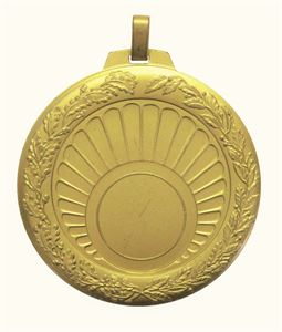 Gold Quality Sun Ray Medal (size: 70mm) - 5510E
