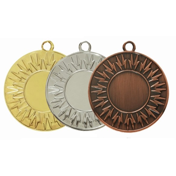 Economy Lightning Bolt Medal - 7004
