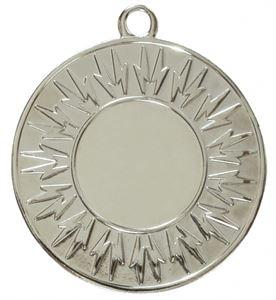 Silver Economy Lightning Bolt Medal (size: 50mm) - 7004