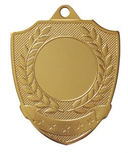 Gold Economy Shield Medal (size: 50mm) - 65872