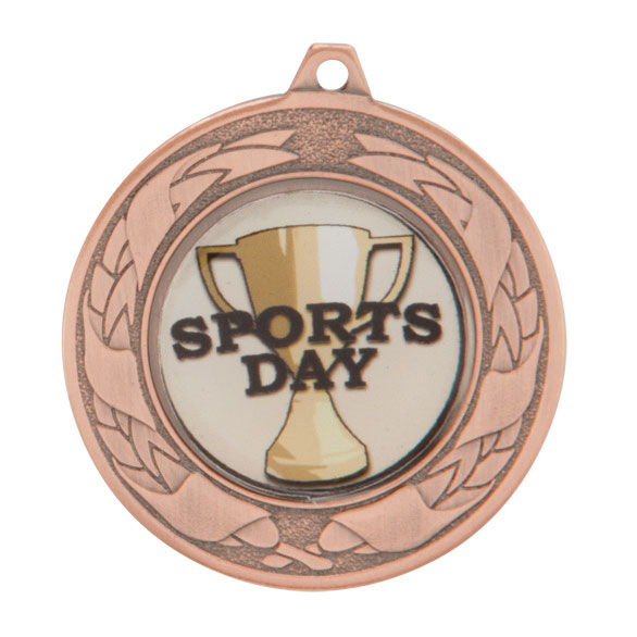 Bronze Budget Emperor Medal - MM2112B