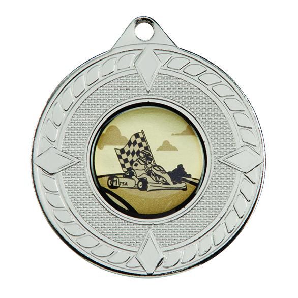 Silver Pinnacle Medal - MM16059S