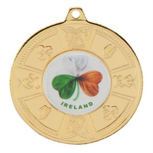 Gold Eire Medal - MM2107G