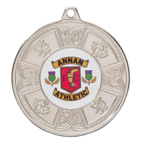 Silver Balmoral Scottish Medal - MM2104S