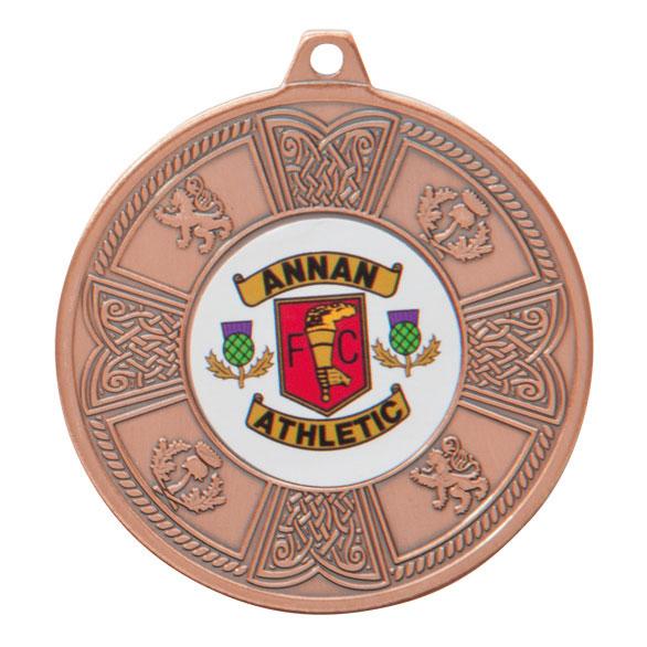 Bronze Balmoral Scottish Medal - MM2104B