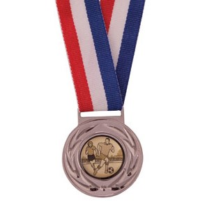 Silver Value Medal & Chunky Ribbon - MM4180S