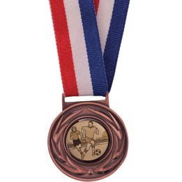 Bronze Value Medal & Chunky Ribbon - MM4180B