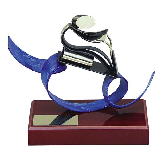 Jet-Ski Handmade Metal Trophy - 657