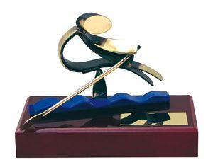 Rowing Handmade Metal Trophy - 300