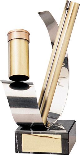 Shooting Cartridge Handmade Metal Trophy - 738