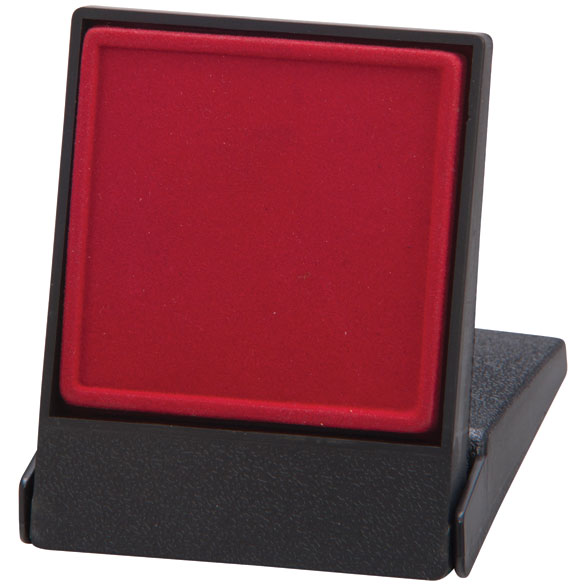 Fortress Red Medal Box (size: takes 40/50mm medal) - MB4187A