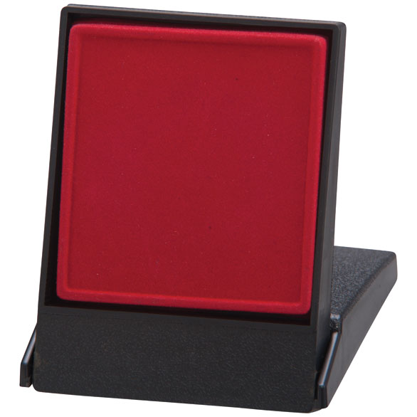 Fortress Red Medal Box (size: takes 50/60mm medal) - MB4187B