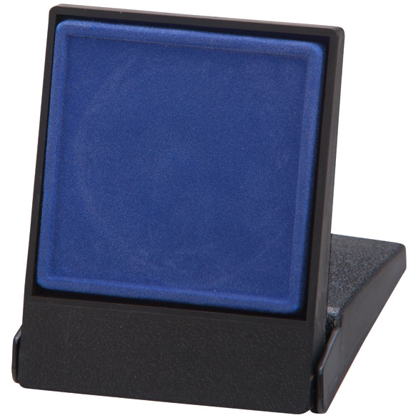 Fortress Blue Medal Box (size: takes 40/50mm medal) - MB4189A