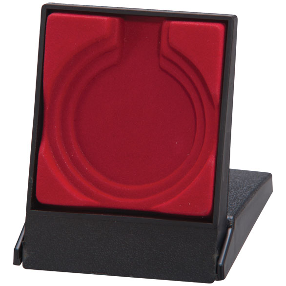 Garrison Red Medal Box (size: takes 50/60/70mm medal) - MB4188B