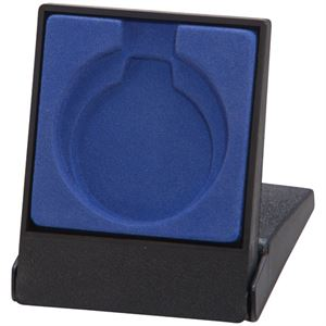 Garrison Blue Medal Box (size: takes 40/50mm medal) - MB4190A