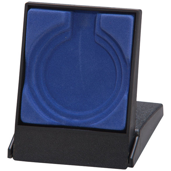 Garrison Blue Medal Box (size: takes 50/60/70mm medal) - MB4190B