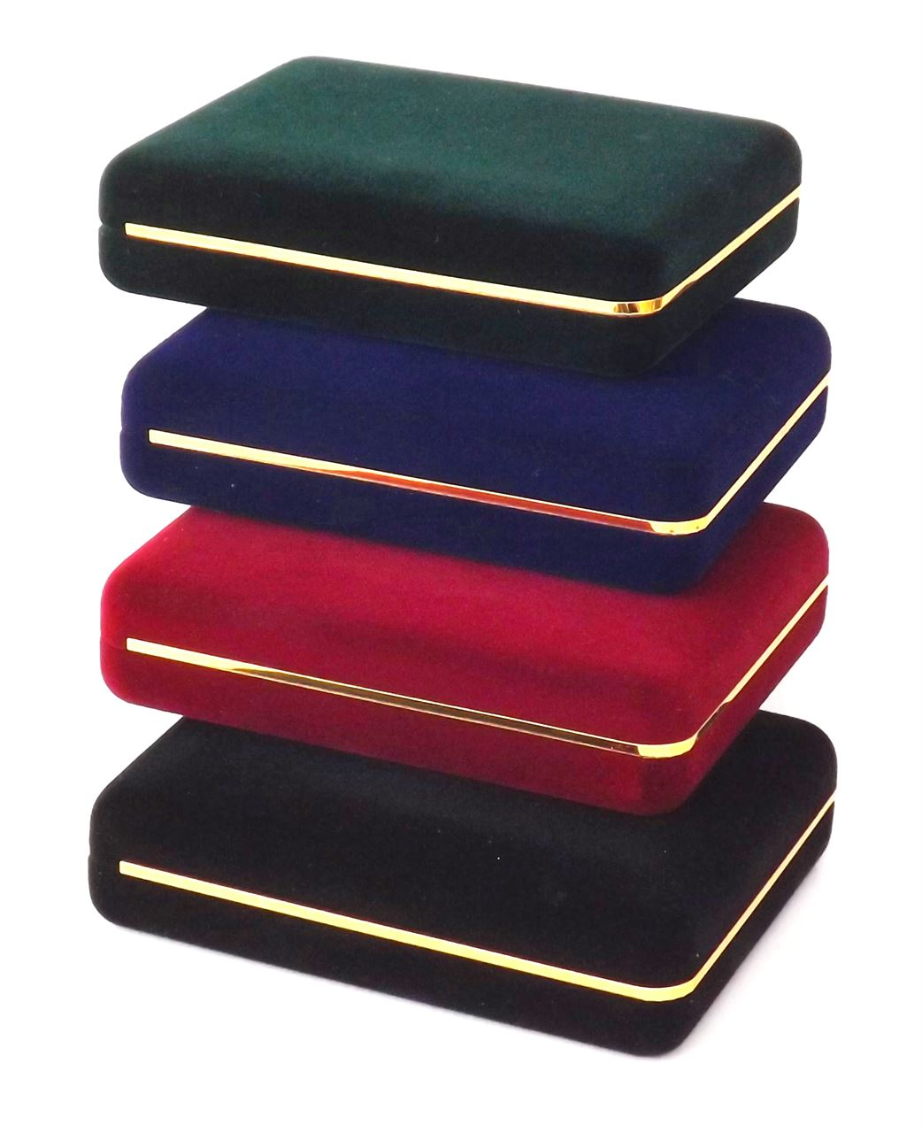 Deluxe Medal Box - Green, Blue, Red and Black