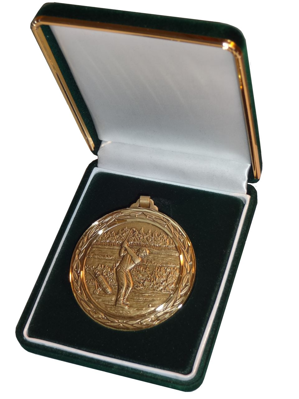 Deluxe Medal Box Green (size: fits 52mm medal ) - BBG52