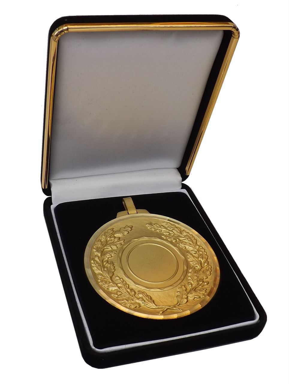 Deluxe Medal Box Black (size: fits 50mm medal ) - BBN50