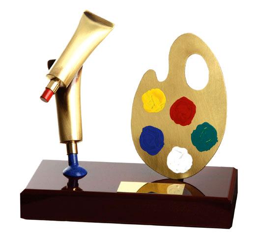 Art Handmade Metal Trophy - 646