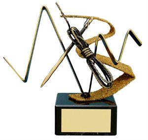 Mountaineering Equipment Handmade Metal Trophy - 126