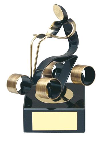 Quad Bike Handmade Metal Trophy - 664