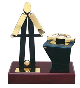 Table Football Figure Handmade Metal Trophy - 300 FN