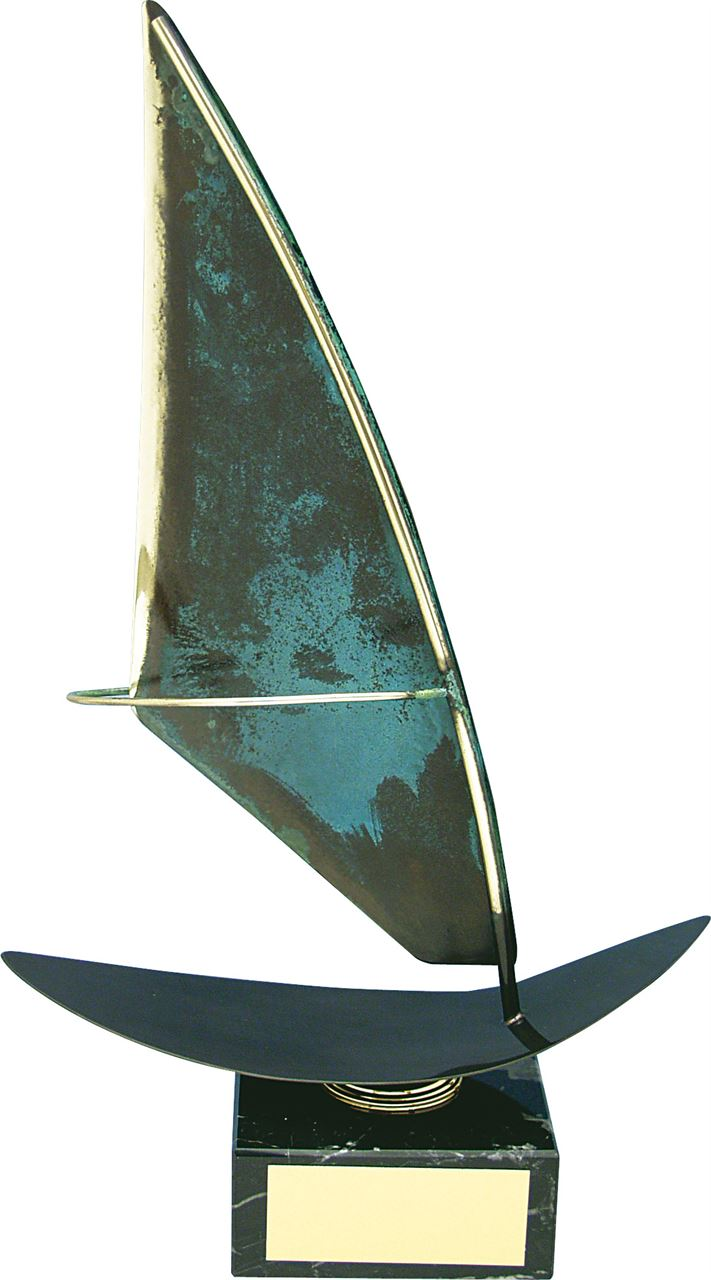 Windsurf Handmade Metal Trophy - 203