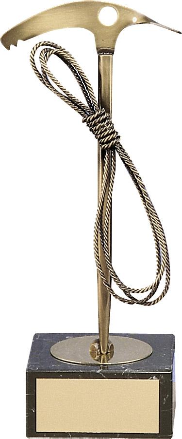 Mountaineering Pickaxe Handmade Metal Trophy - 846