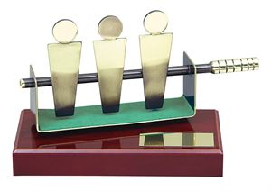 Table Football Handmade Metal Trophy - 692