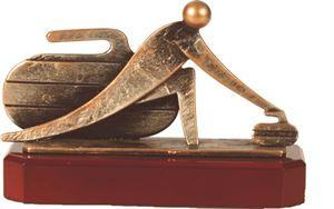 Curling Figure Trophy - BEL271