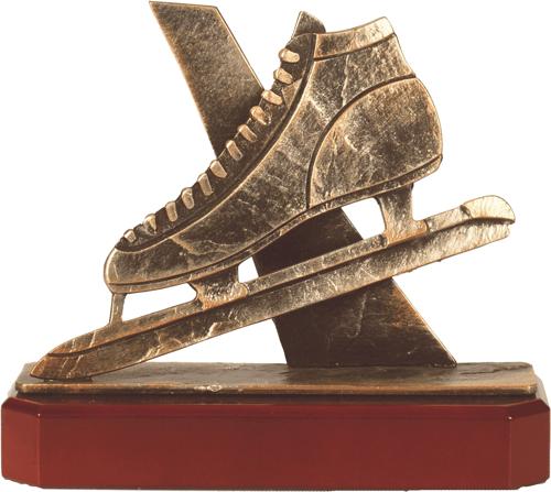 Speed Skating Pewter Trophy - BEL277