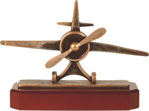 Pewter Aeroplane Trophy - BEL268