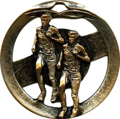 Circular Frame Running Medal - MTL903