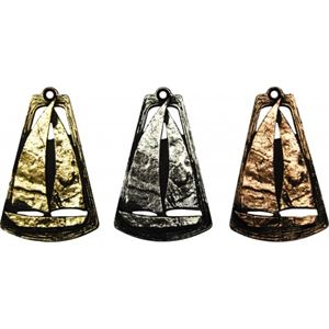 Cone Frame Sailing Medal - MTL760
