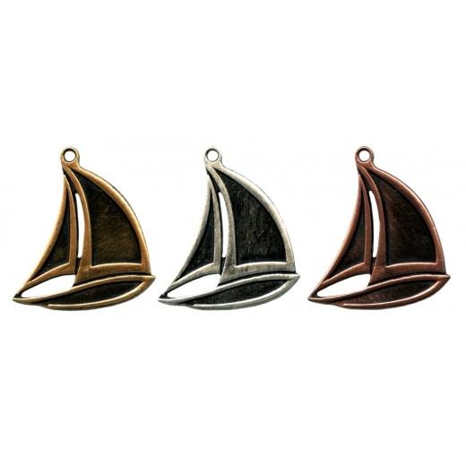 Die Cast Sailing Medal - MTL816