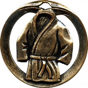 Circular Frame Martial Arts Medal - MTL902