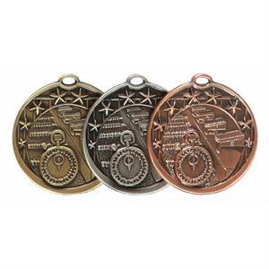 Star Design Swimming Medal (50mm) - D4SW