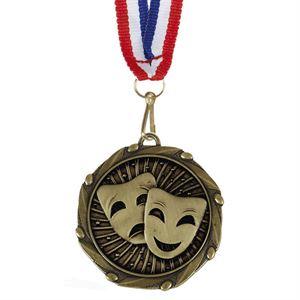 Combo Drama Medal & Ribbon (size: 45mm) - AM1155.12
